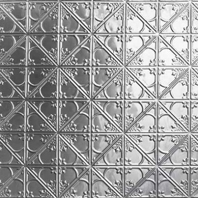 Snow Flakes Pressed Tin