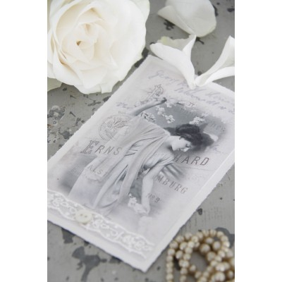 Lovely Vintage Lady Single Card