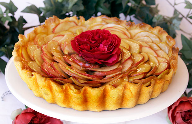 Provence: Classic French Apple Tart