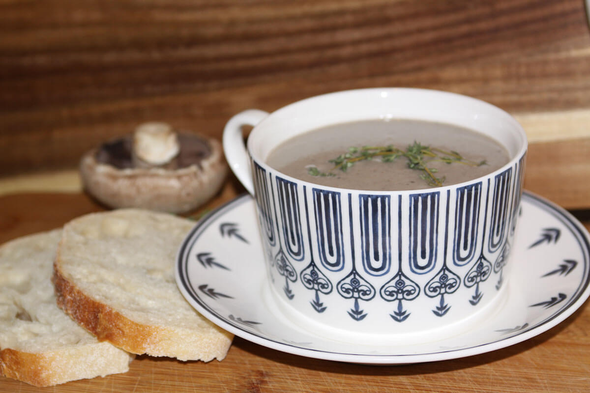 Andaines Forest Cream of Mushroom Soup
