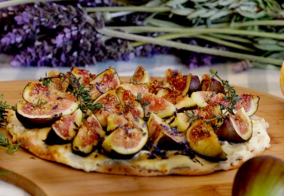 Provence: Fig and Lavender Pizza