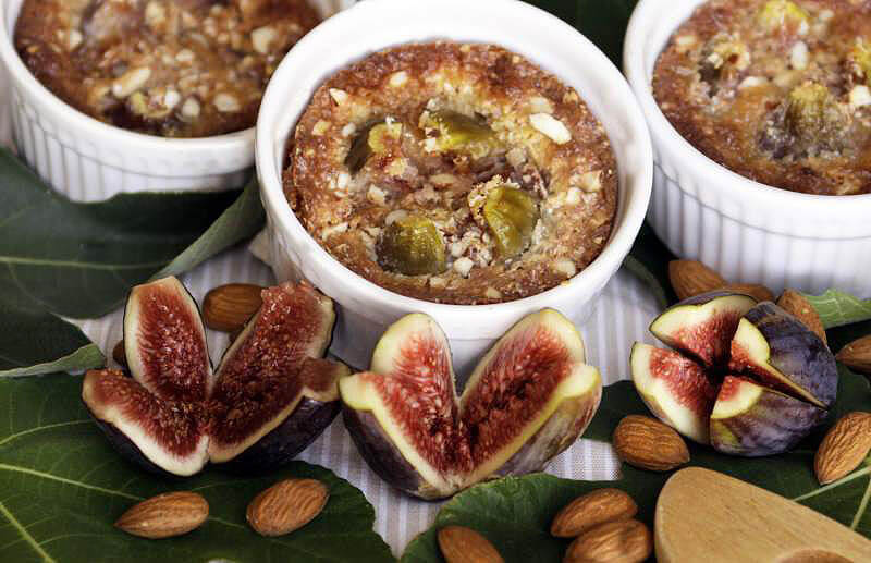 Figs with Almond Cream