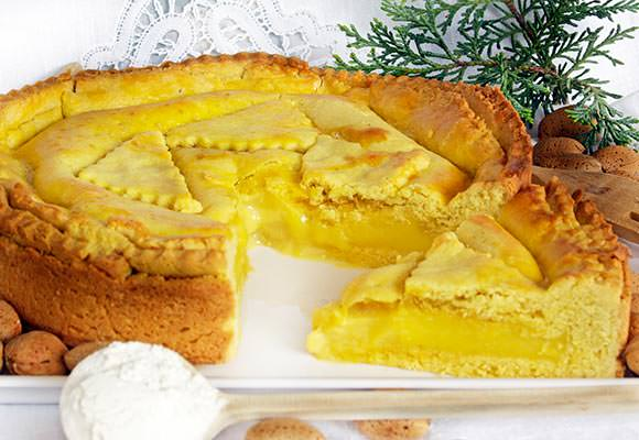 Provence: French Almond and Custard Cake