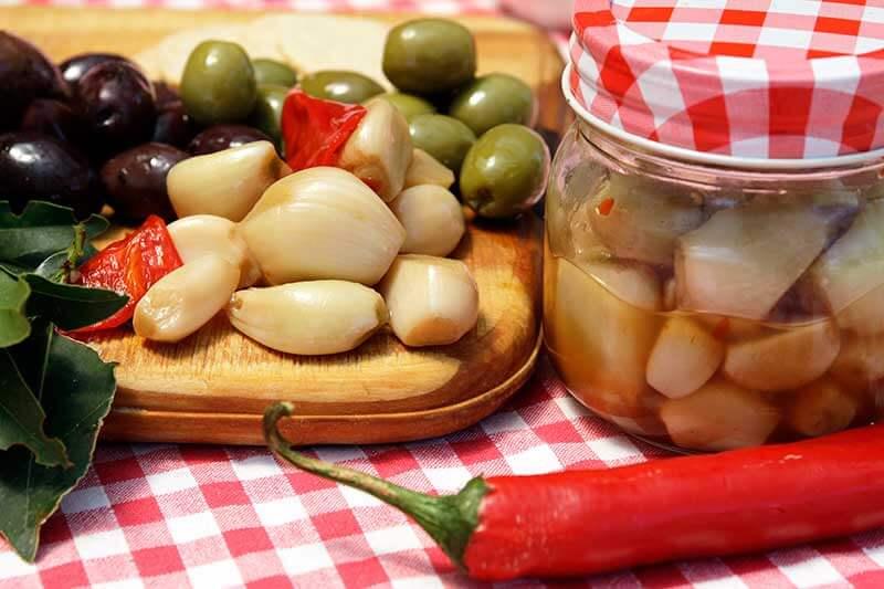 French Pickled Garlic