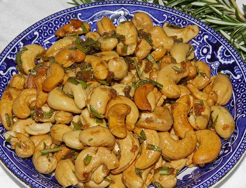 French Rosemary Cashews