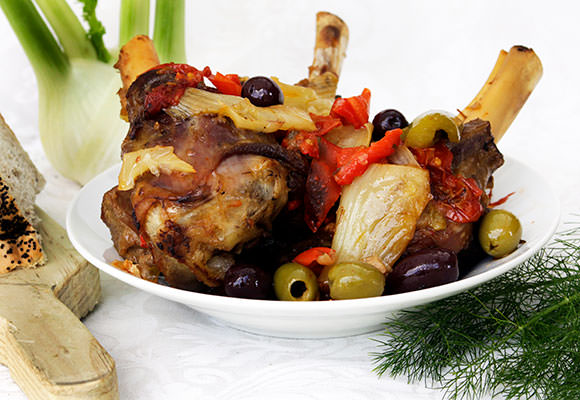 Provence: French Style Lamb Shanks