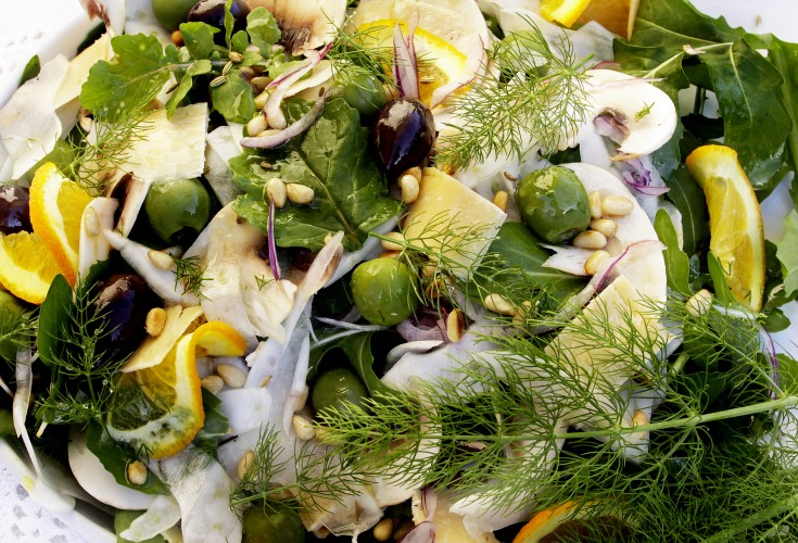 French Country Style Fennel Salad