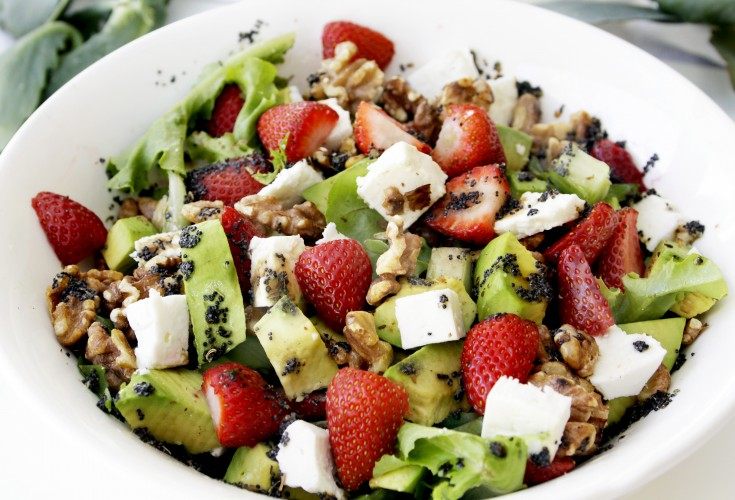 French Style Strawberry Salad