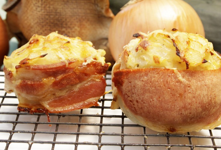 French Style Whole Roasted Onions
