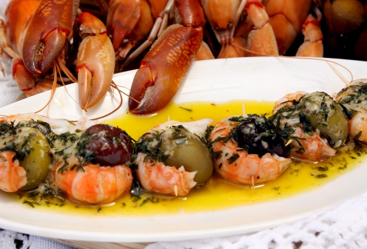 French Yabby and Olive Apéro