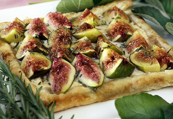 Provence: Honeyed Figs and Goat Cheese