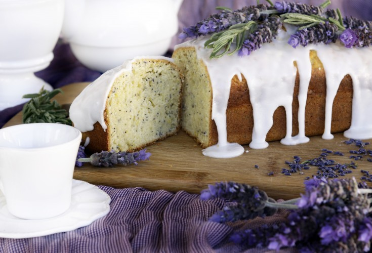 Lemon, Lavender and Poppy Seed Loaf