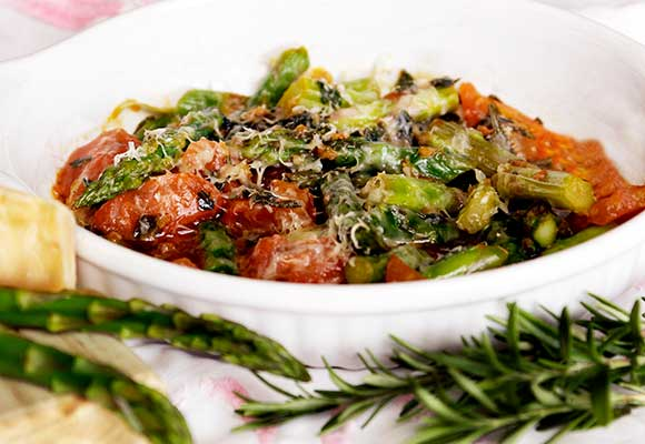 Provence: Asparagus with Tomato