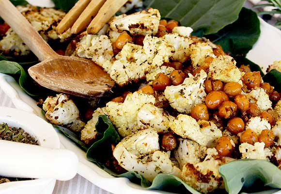 Provence: Provencal Cauliflower with Chick Peas