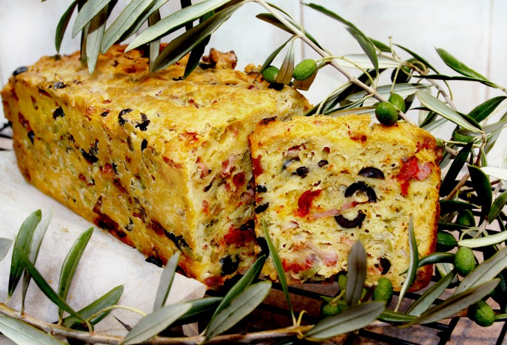 Provencal Olive, Cheese and Tomato Loaf