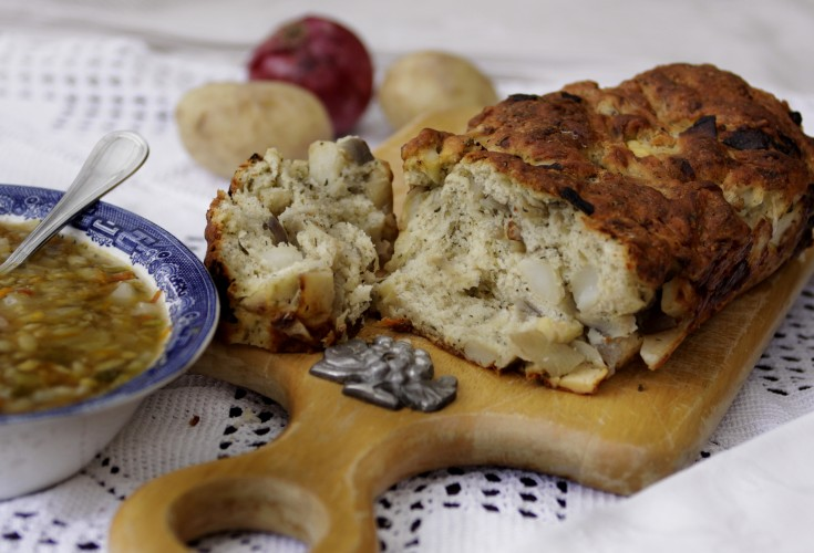 Provencal Potato and Onion Loaf