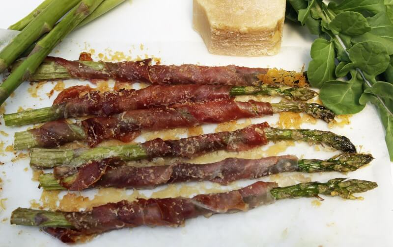 Roasted Asparagus and Prosciutto