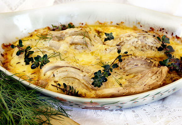 Provence: Roasted Fennel with Parmesan