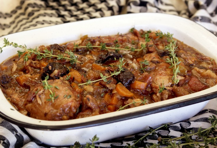 Slow Cooked Rabbit Ragout