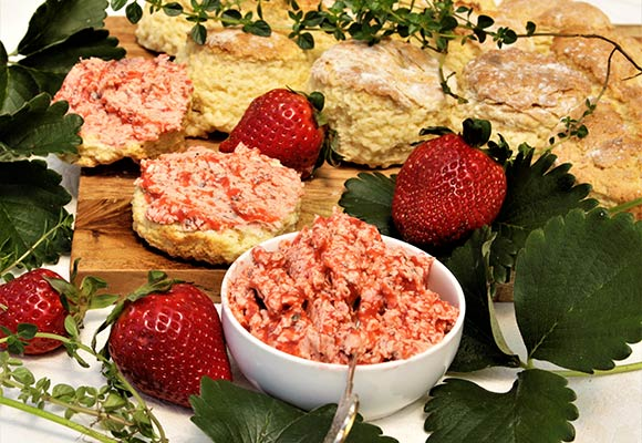 Provence: Strawberry Thyme Butter