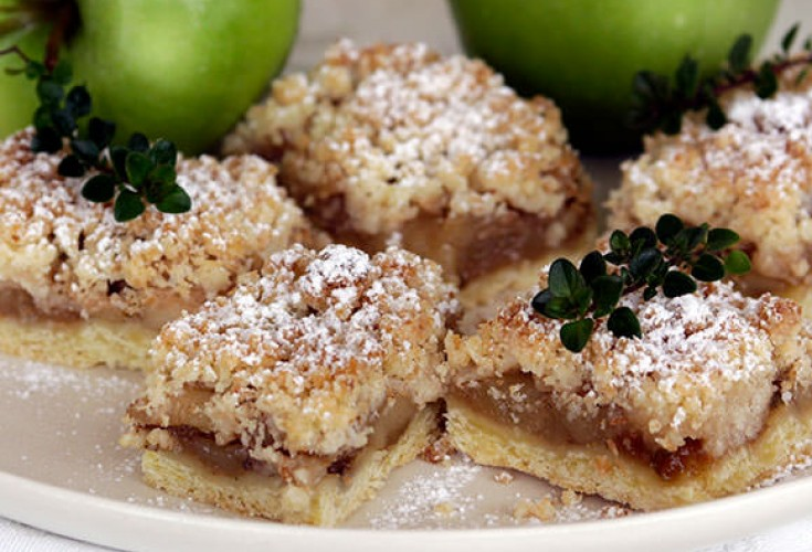 Thyme and Tarragon Apple Slice