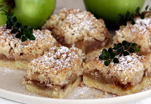 Provence: Thyme and Tarragon Apple Slice