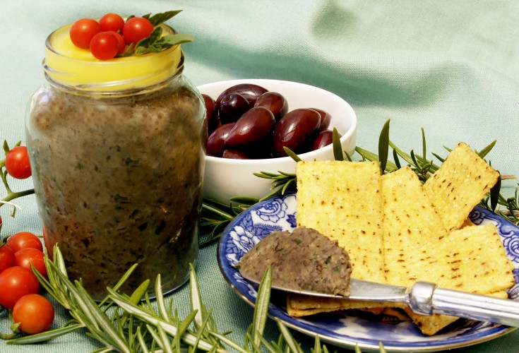 Vegetarian Paté with Mushrooms
