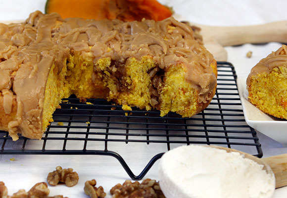 Provence: Walnut and Pumpkin Round with Caramel Glaze