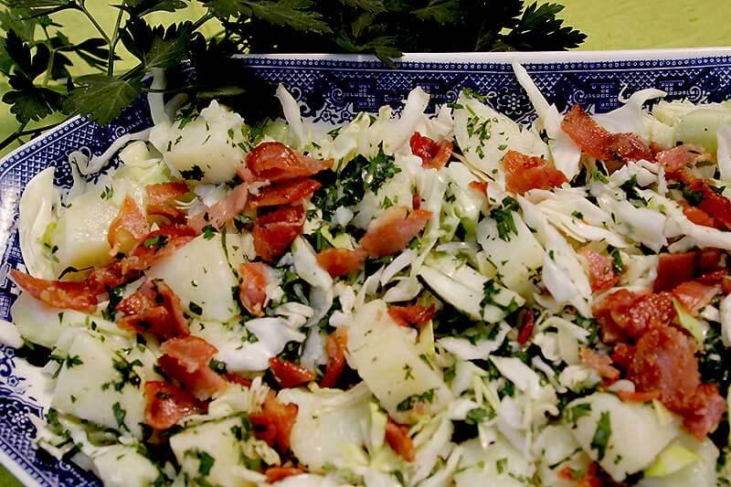 Alsatian–style Cabbage Salad