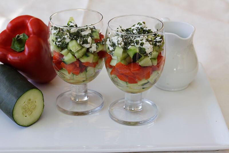 Cucumber Verrine