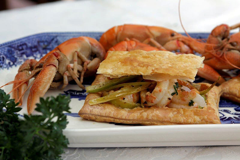 Yabbies in Puff Pastry (Ecrevisses en Chausson)